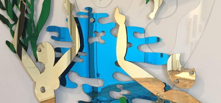 Tulika Design – Māyā – Laser cutting Mirrored Acrylic