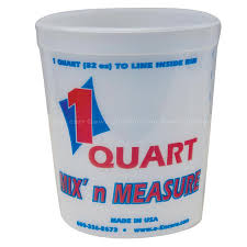 Mix & Measure 1 qt Bucket