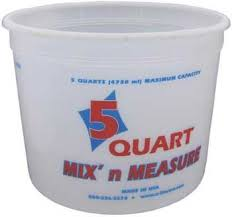 Mix & Measure 5 qt bucket
